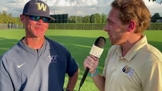6-11-21 NCAA World Series vs. Angelo State Postgame - Coach Gregory