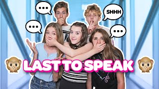 LAST TO SPEAK WINS $10,000 **FUNNY CHALLENGE** 🙊🤐| Symonne Harrison