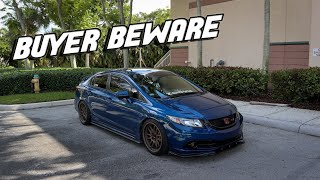 Watch this BEFORE before buying a 9th Gen Si