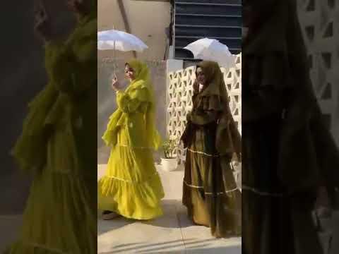 Azzahra Syari By Reeva Hijab Original Design - Gamis Busui Polos Cerruty Mewah Elegan Glamour