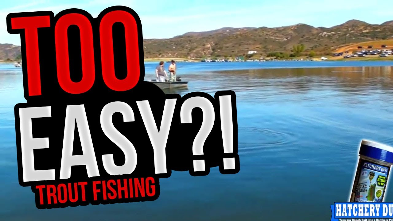 trout fishing bait should probably be illegal. too easy. - youtube, Fly Fishing Bait
