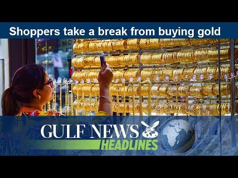 Shoppers take a break from buying gold - GN Headlines