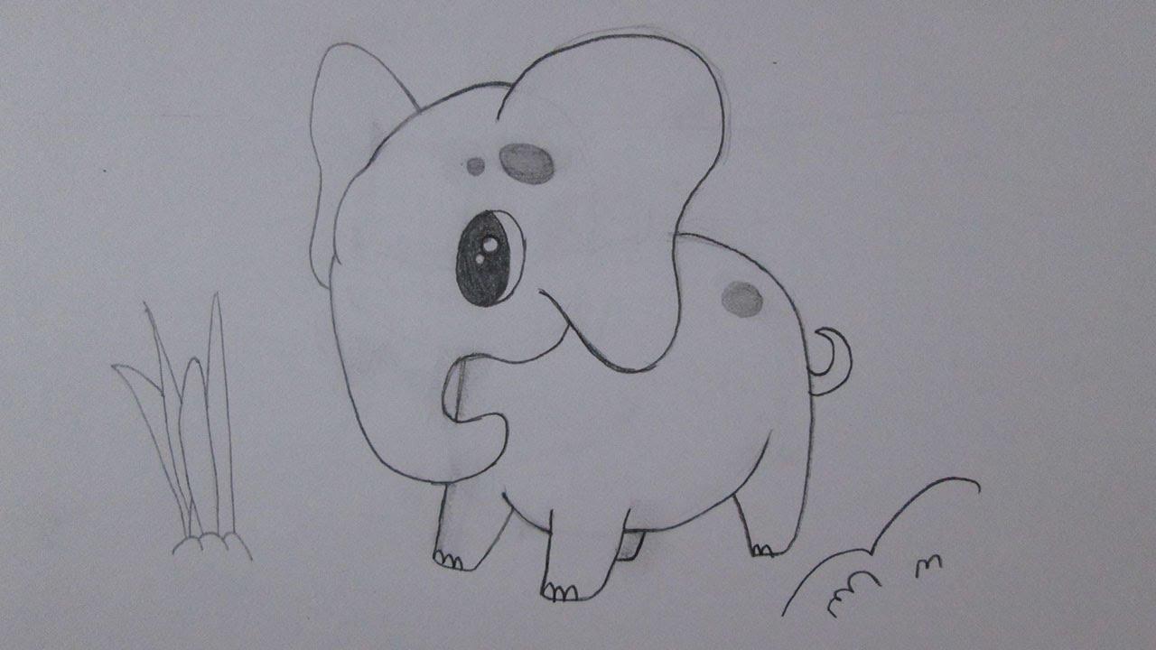 Desenhos Tumblr De Mão Estalando Como Fazer: Como Desenhar Um Elefante