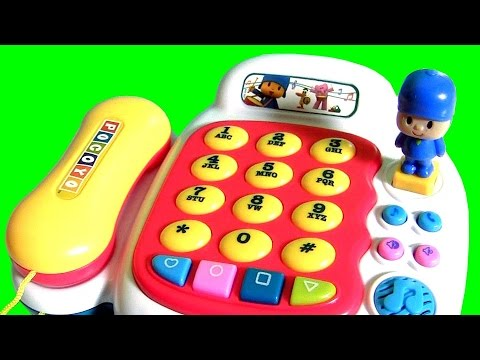 Telefone Musical do Pocoyo em Portugues Brasil Toys BR | POCOYO Baby Musical Telephone Toy Piano
