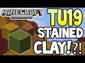 Minecraft (Xbox 360/PS3) - TU19 UPDATE! - STAINED CLAY!?! - EXPLAINED! + INFO!
