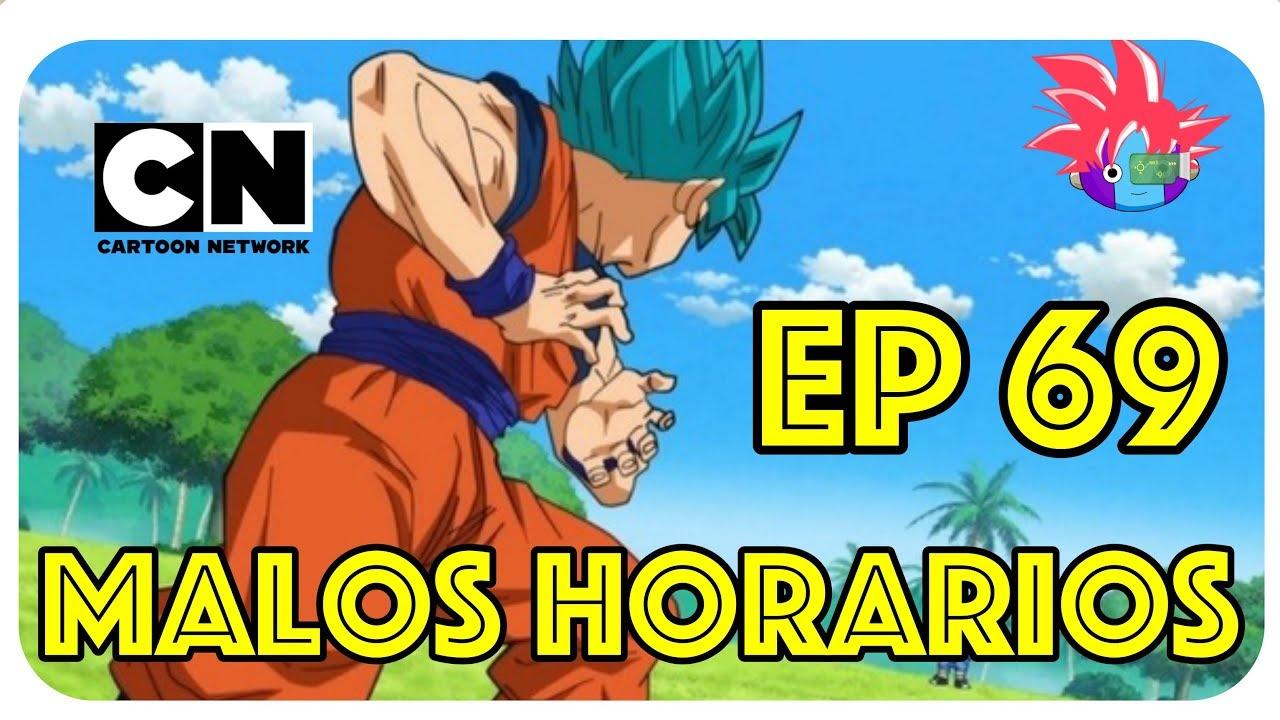 dragon ball super latino malos horarios en cartoon network