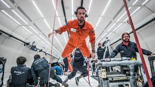 Guillaume Néry in Zero G