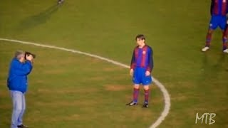 16 Year Old Messi Playing In Spanish 3rd Division ● Rare Footage