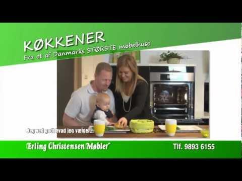 Køkken & bad hos erling christensen møbler, hørmested   youtube