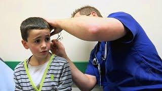 Uma Criança Diz que Enfiou um Lápis no Ouvido, mas o Médico…