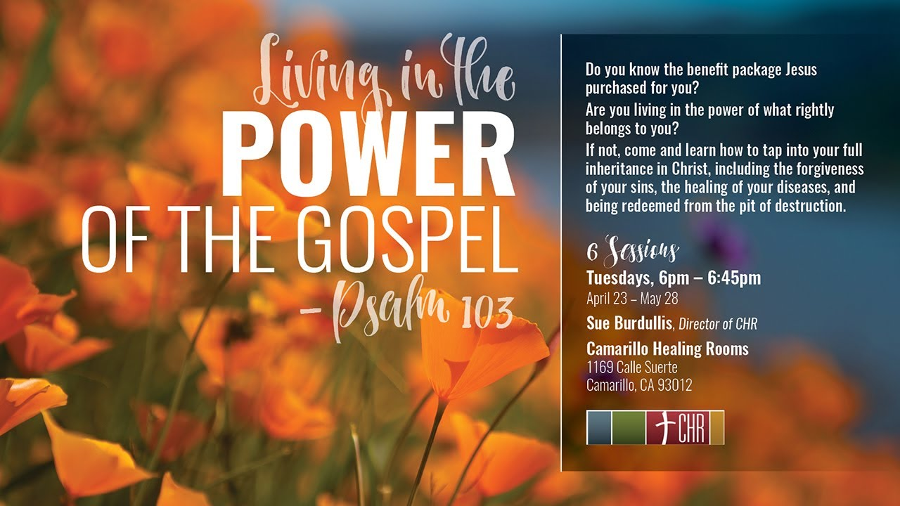 Living in the Power of God's Forgiveness – Psalm 103