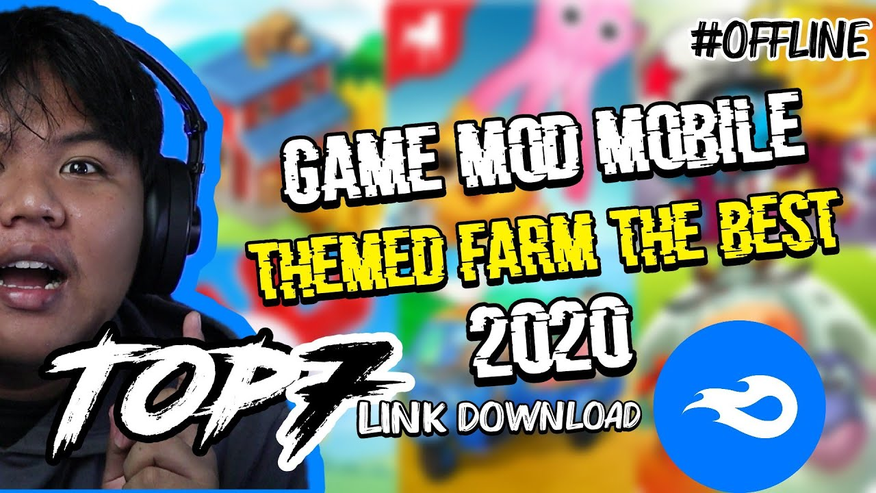 TOP!!! 07 game mod mobile themed farming the best on 2020 offline + link download mf (sub english)
