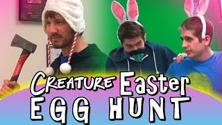 DOG FOOD FIGHT | The Great Easter Egg Hunt 2015 | PART 2 of 4
