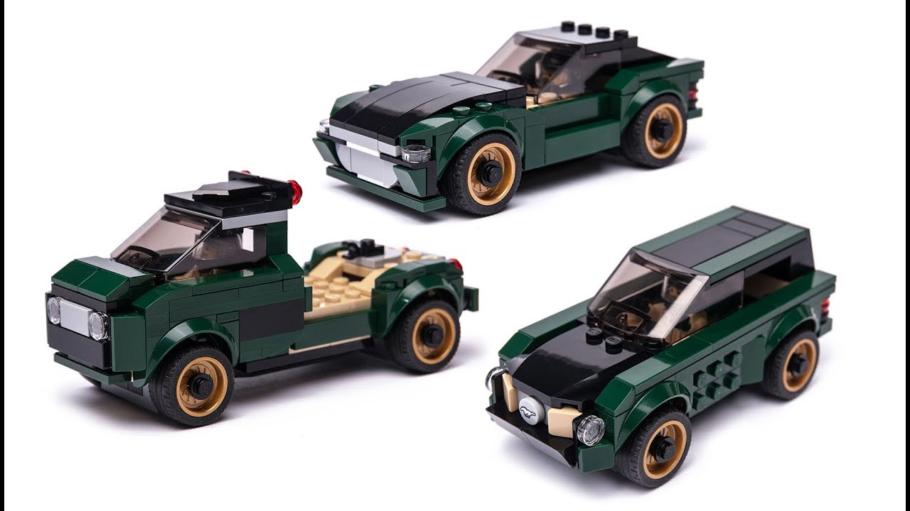 NEW LEGO Ford Mustang set Alternative build models