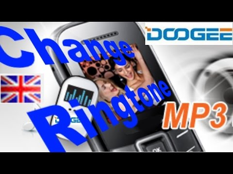 Tuto Change ringtone by MP3 on Android Doogee phone (eng)