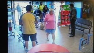 Walmart Shoplifter Takedown 11/2015
