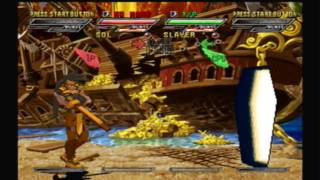 Guilty Gear Isuka (Arcade Mode) Part 1