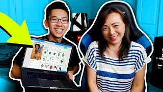 SURPRISING MY MOM WITH A ROBLOX ACCOUNT!!