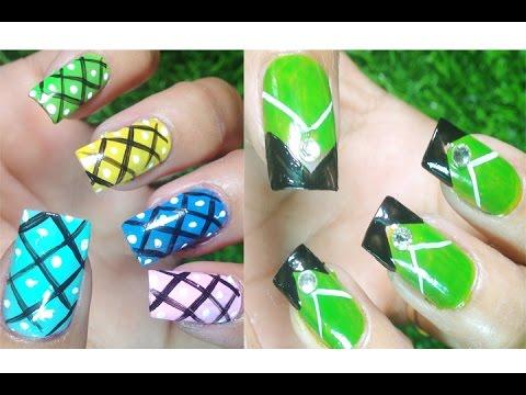 Simple Nails Polish – Nail Art Paint Ideas – Nail Designs – Nails Compilation (Part 11)