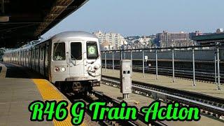 NYC Subway: R46 G Train Action