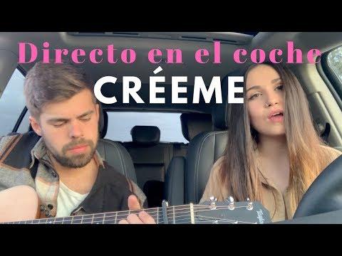 CRÉEME - KAROL G FT. MALUMA | DIRECTO EN EL COCHE (Carolina García)