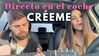 CrÉeme - Karol G Ft. Maluma  Directo En El Coche Carolina García
