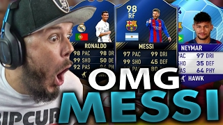 OMG I GOT MESSI!! GREATEST RAGE EVER - FIFA 17 ULTIMATE TEAM