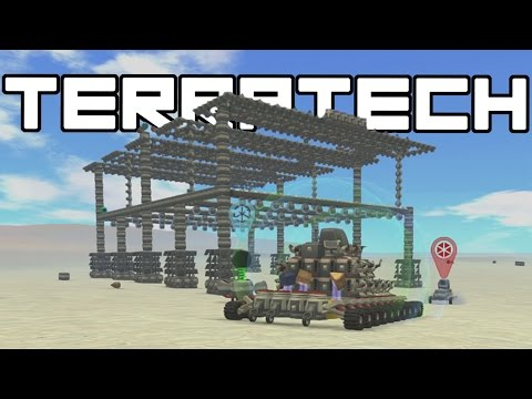 TerraTech – The Refinery Base!  – Terra Tech Gameplay