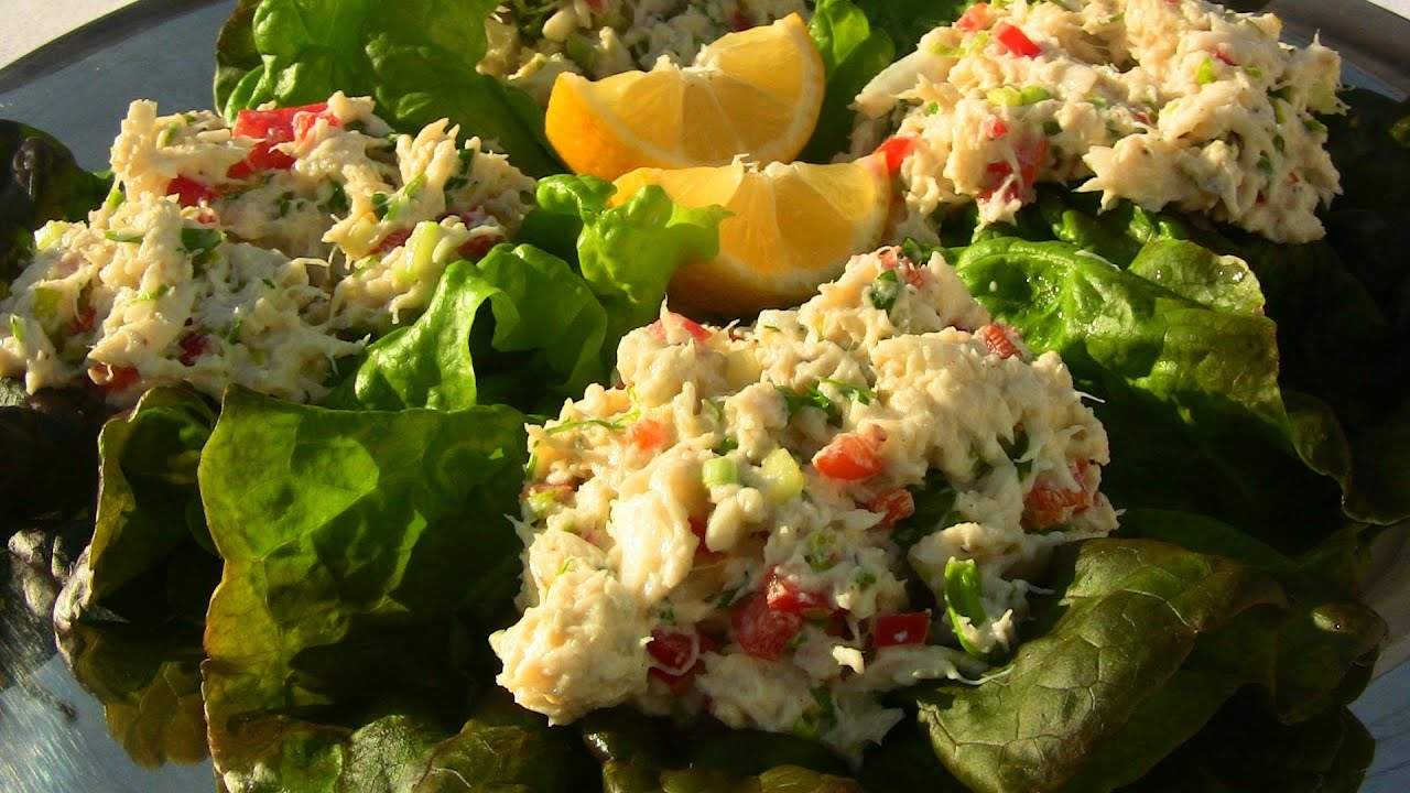 EASY CRAB SALAD RECIPE |Cooking With Carolyn