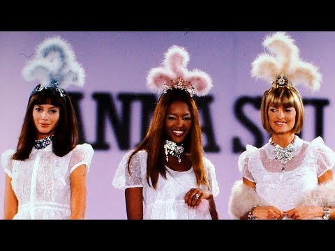 Back to the 90's: Icons on Anna Sui Spring 1994