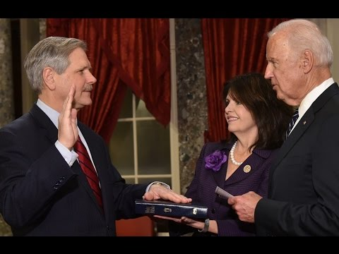 Senator John Hoeven Second Term Swearing In