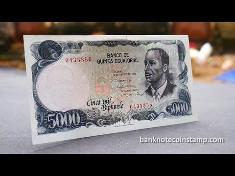 Equatorial Guinea 5000 Bipkwele - Enrique Nvo Okenve