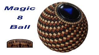 Woodturning | Magic 8 Ball | Carl Jacobson