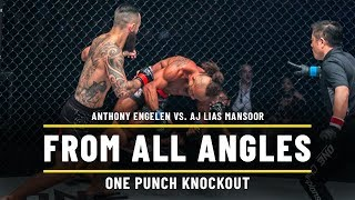 Anthony Engelen vs. A.J. Lias Mansoor | ONE From All Angles