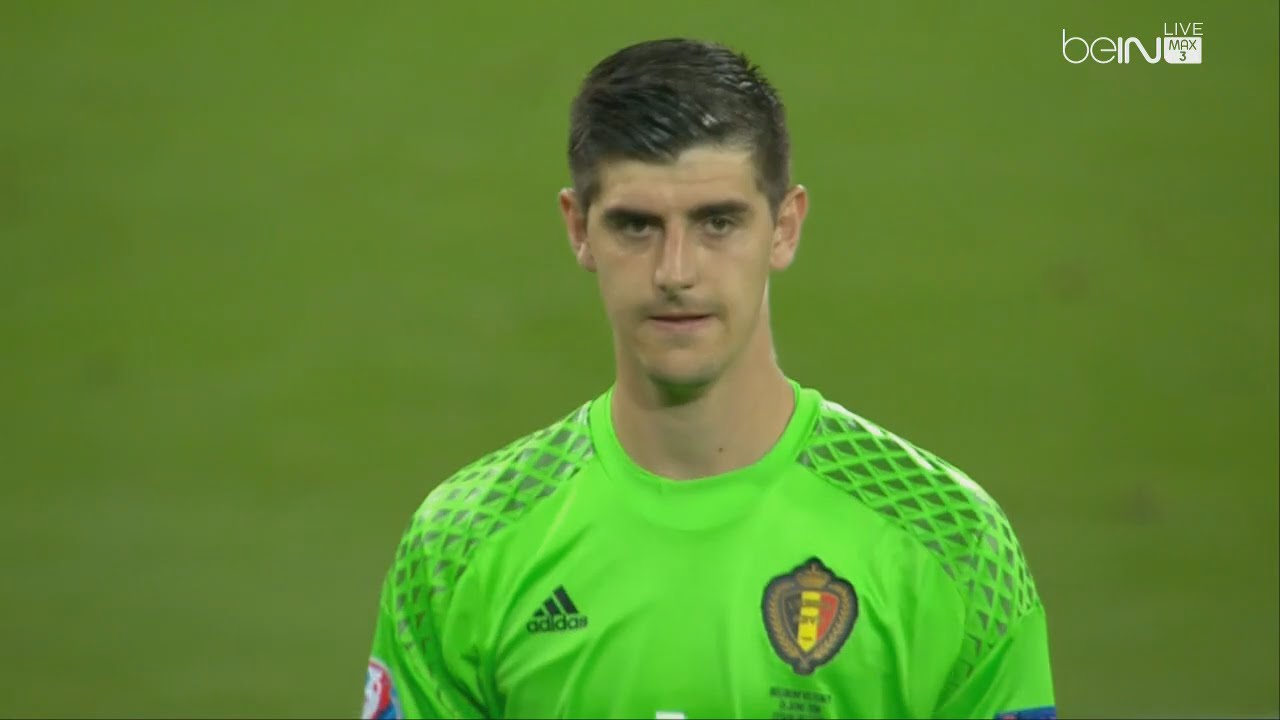 38663ee0ed5 Thibaut Courtois vs Italy - Euro 2016 (13.06.2016) HD 720p - YouTube
