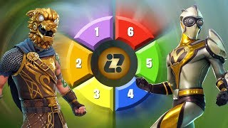 CAN YOU ATOEATE THE COLORS OF FORTNITE SKINS? - FORTNITE CHALLENGE tusadivi