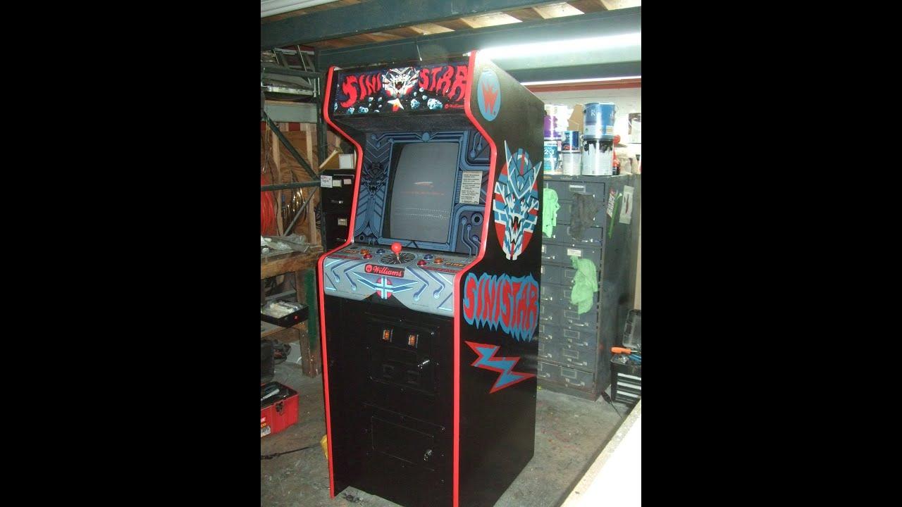Sinistar Arcade Cabinet  Cabinets Matttroy