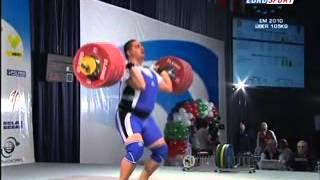 2010 European Weightlifting +105 Kg