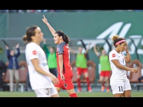 Christine Sinclair | Thorns FC 3, FC Kansas City 0 | Postgame
