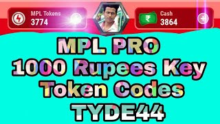 Mpl Pro 1000 Rupay Kay Unlimited Token Coupon Code Hack Trick
