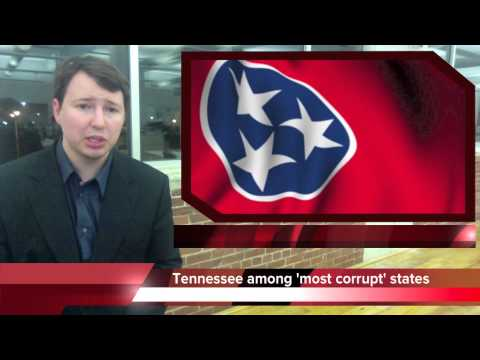 Tennessee 3rd most corrupt state in America
