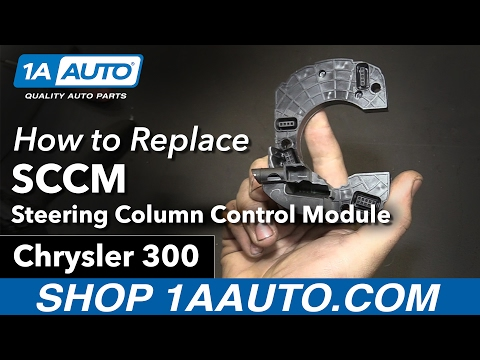 How to Replace Steering Column Control Module 05-10 Chrysler 300