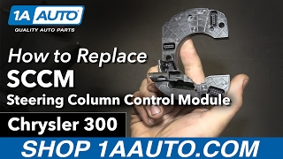 How to Replace Install Steering Column Control Module SCCM 06 Chrysler 300
