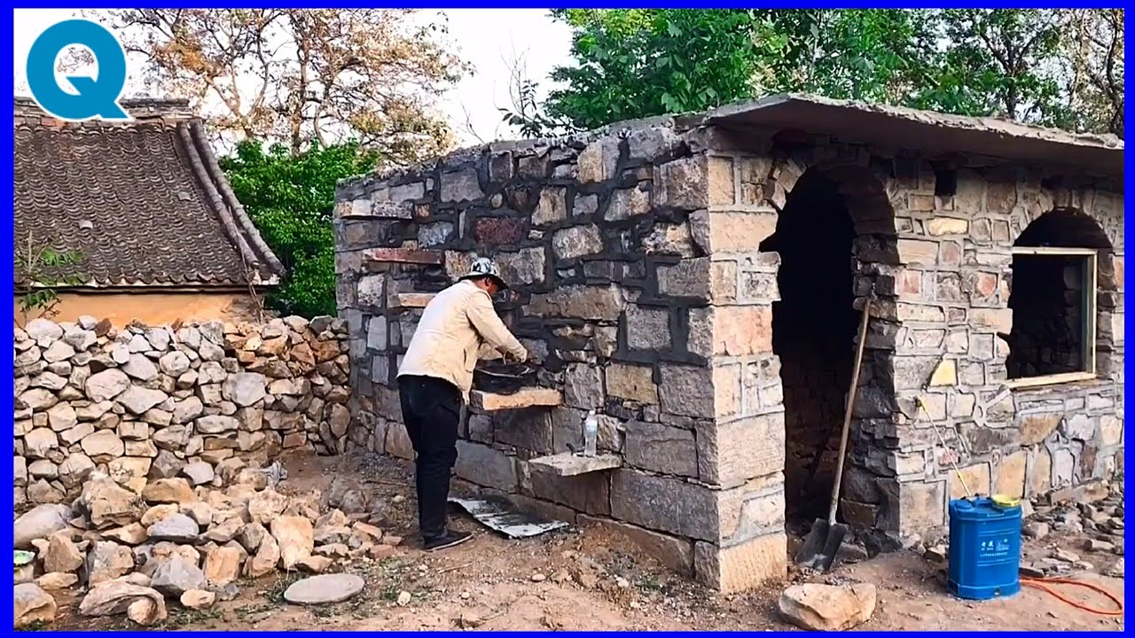 build a cool and sustainable box stone house