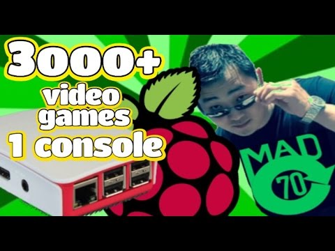 MC70 BUILDS a Console that holds 3,000+ Video Games | Raspberry Pi 3 | Retro Gaming
