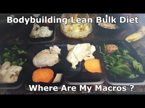 BodyBuilding Lean Bulk Diet-Where Are My Macros At