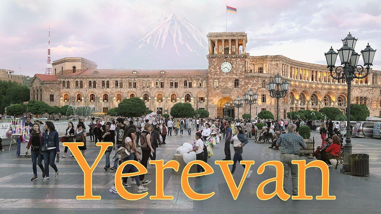 Yerevan Armenia 4K. The Capital of Armenia