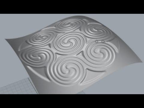 Bitmap/Relief mit Rhino 3D