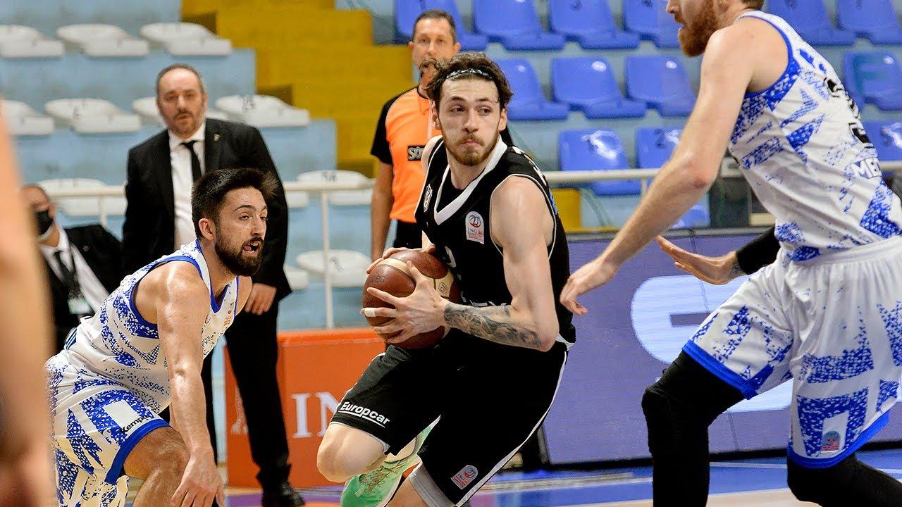 Büyükçekmece Basketbol: 89   Beşiktaş Icrypex: 104