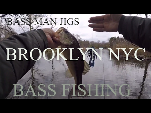 Brooklyn NYC Bass Fishing - Prospect Park